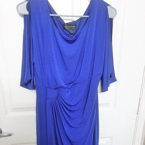 Bright Blue Dress Anetted Apparel 16 size